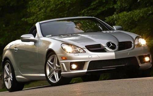 2010 mercedes benz slk class convertible slk55 amg fq oem 1 500