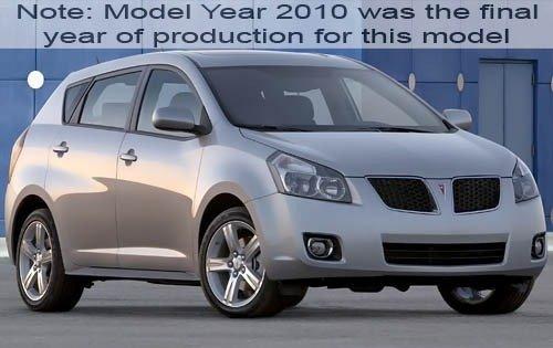 2010 pontiac vibe 4dr hatchback base fq oem 1 500