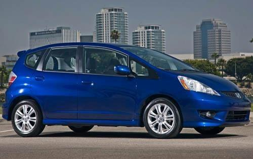 maintenance schedule for 2011 honda fit