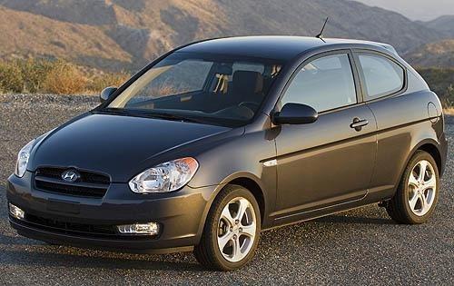 2011 hyundai accent 2dr hatchback gs fq oem 1 500