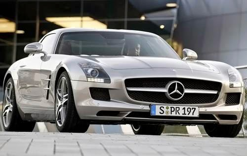2011 mercedes benz sls amg coupe base fq oem 4 500