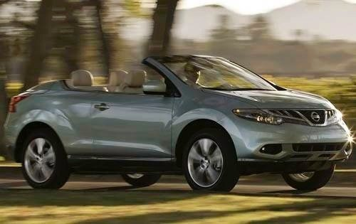 2011 nissan murano crosscabriolet convertible suv base fq oem 1 500