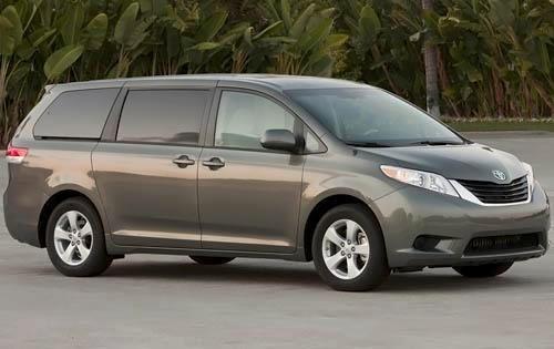 2011 toyota sienna passenger minivan le 7 passenger fq oem 1 500