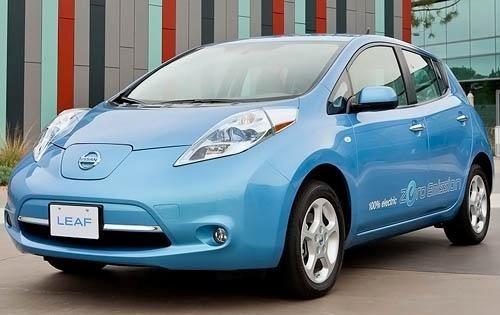 2012 nissan leaf 4dr hatchback sl fq oem 1 500