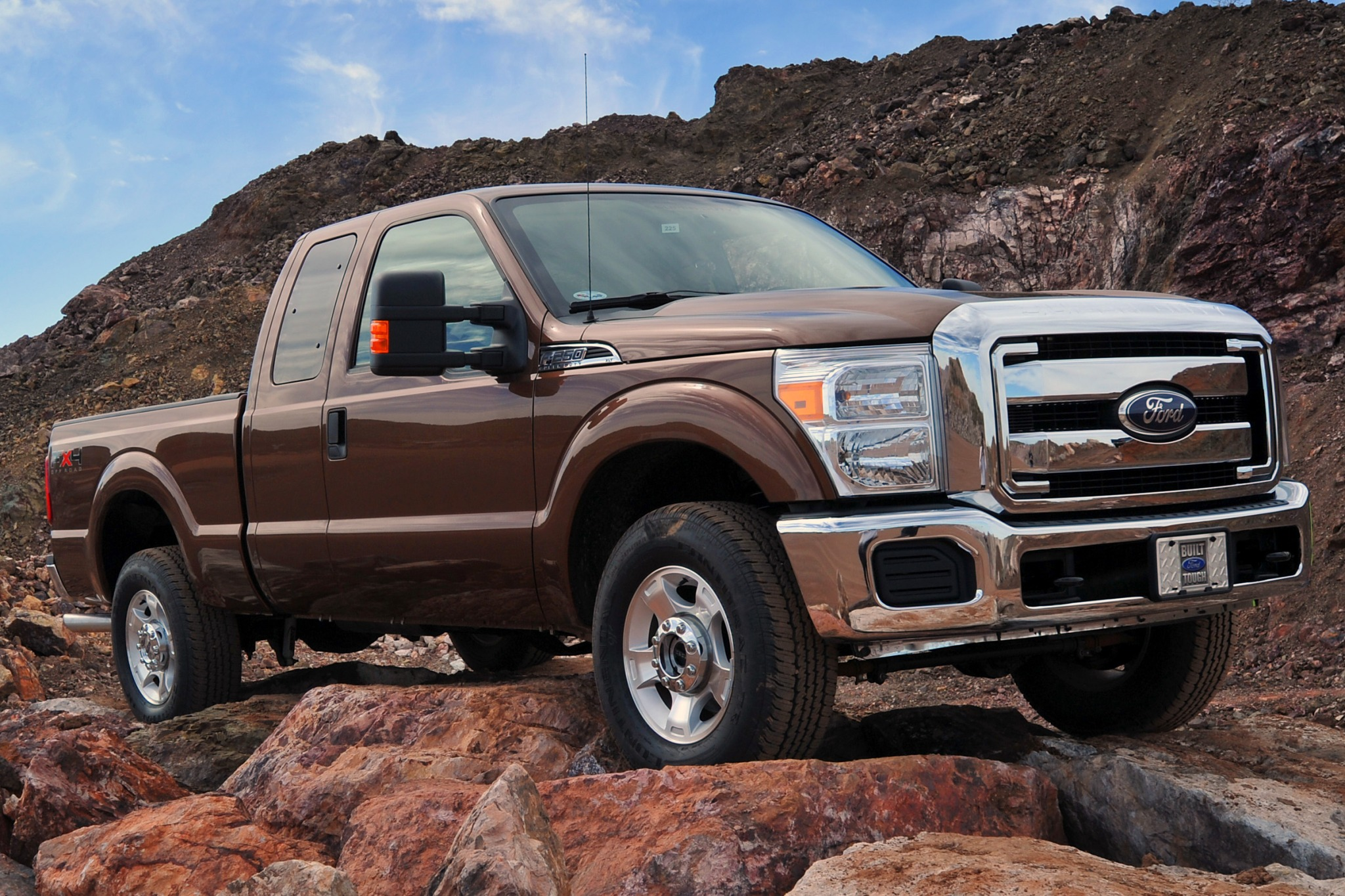2013 ford f 250 super duty extended cab pickup lariat fq oem 2 2048
