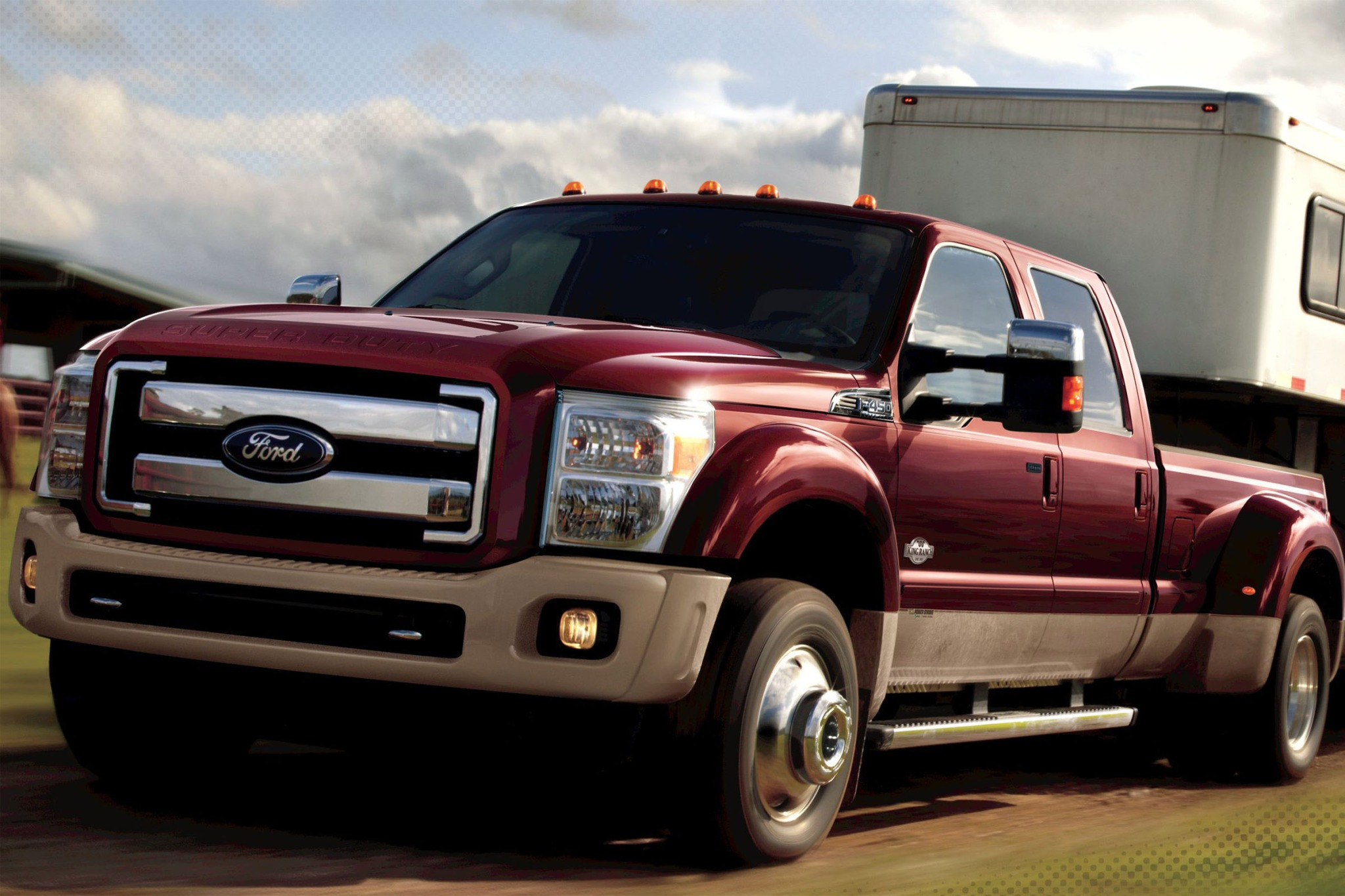 2013 ford f 450 super duty crew cab pickup king ranch fq oem 1 2048