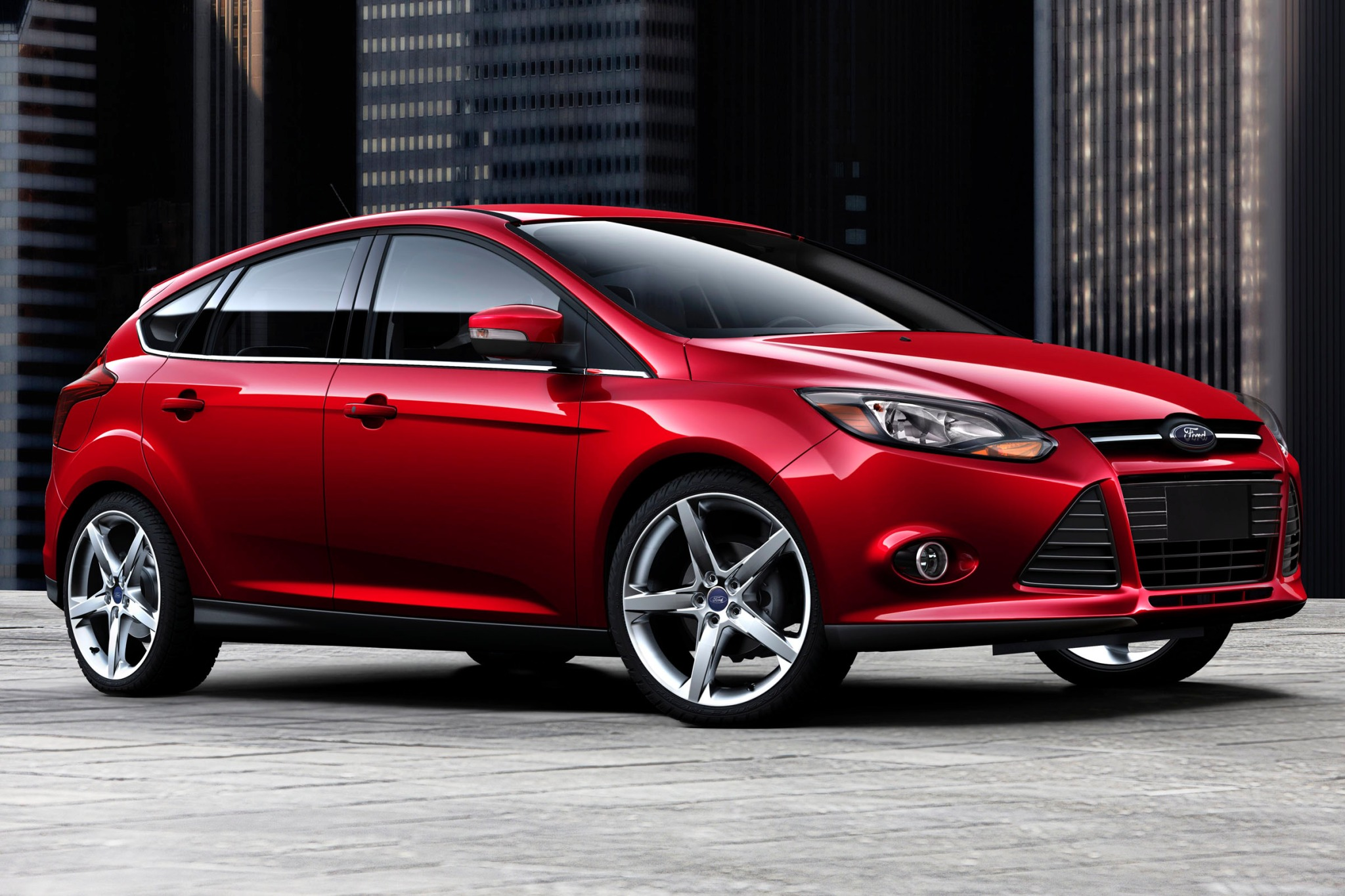 2013 ford focus 4dr hatchback titanium fq oem 1 2048