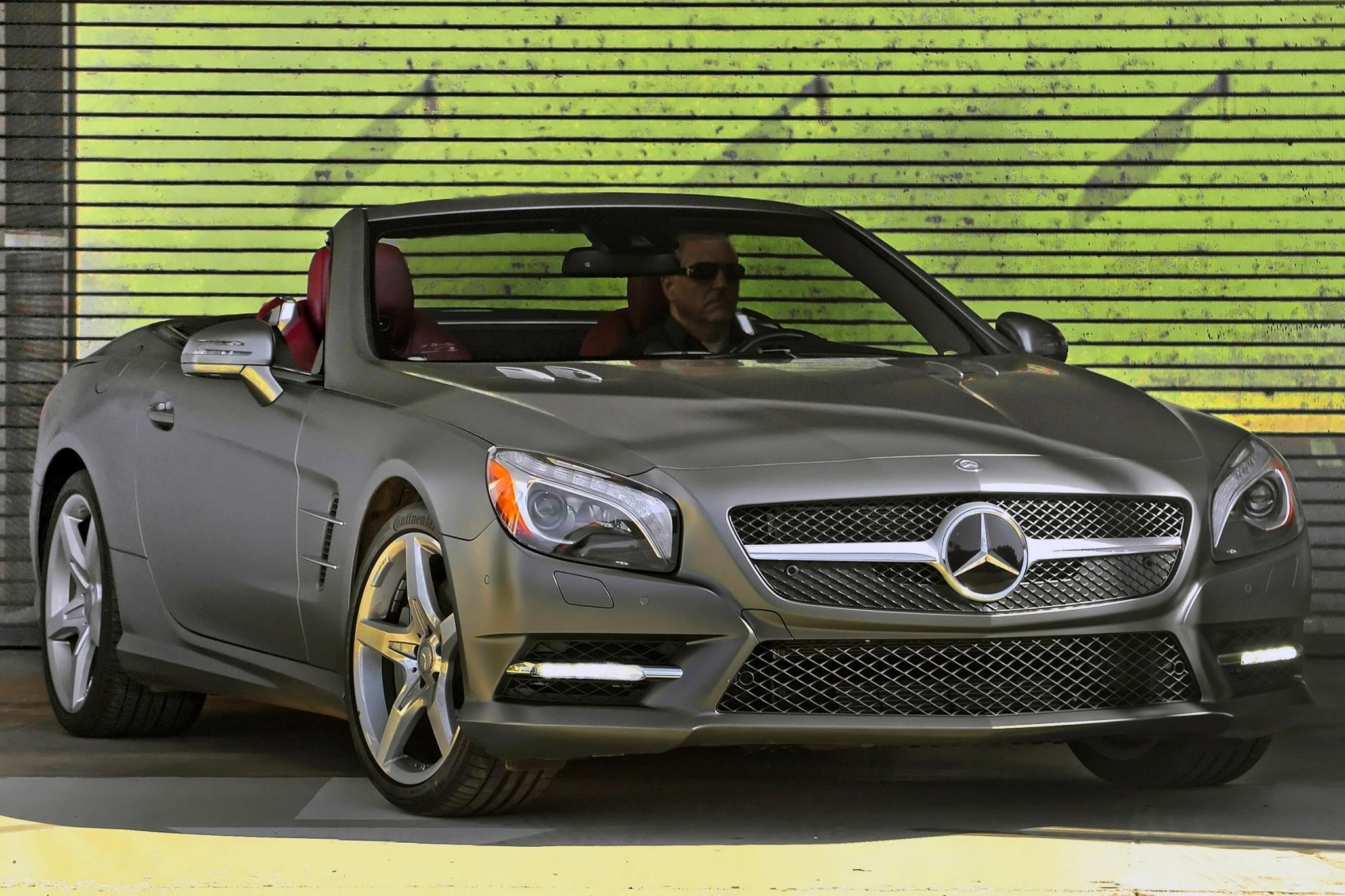 2014 mercedes benz sl class convertible sl550 fq oem 4 2048