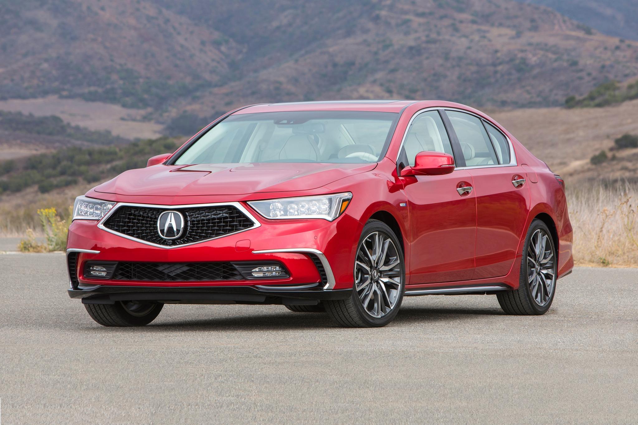 2018 acura rlx sedan sport hybrid sh awd fq oem 1 2048