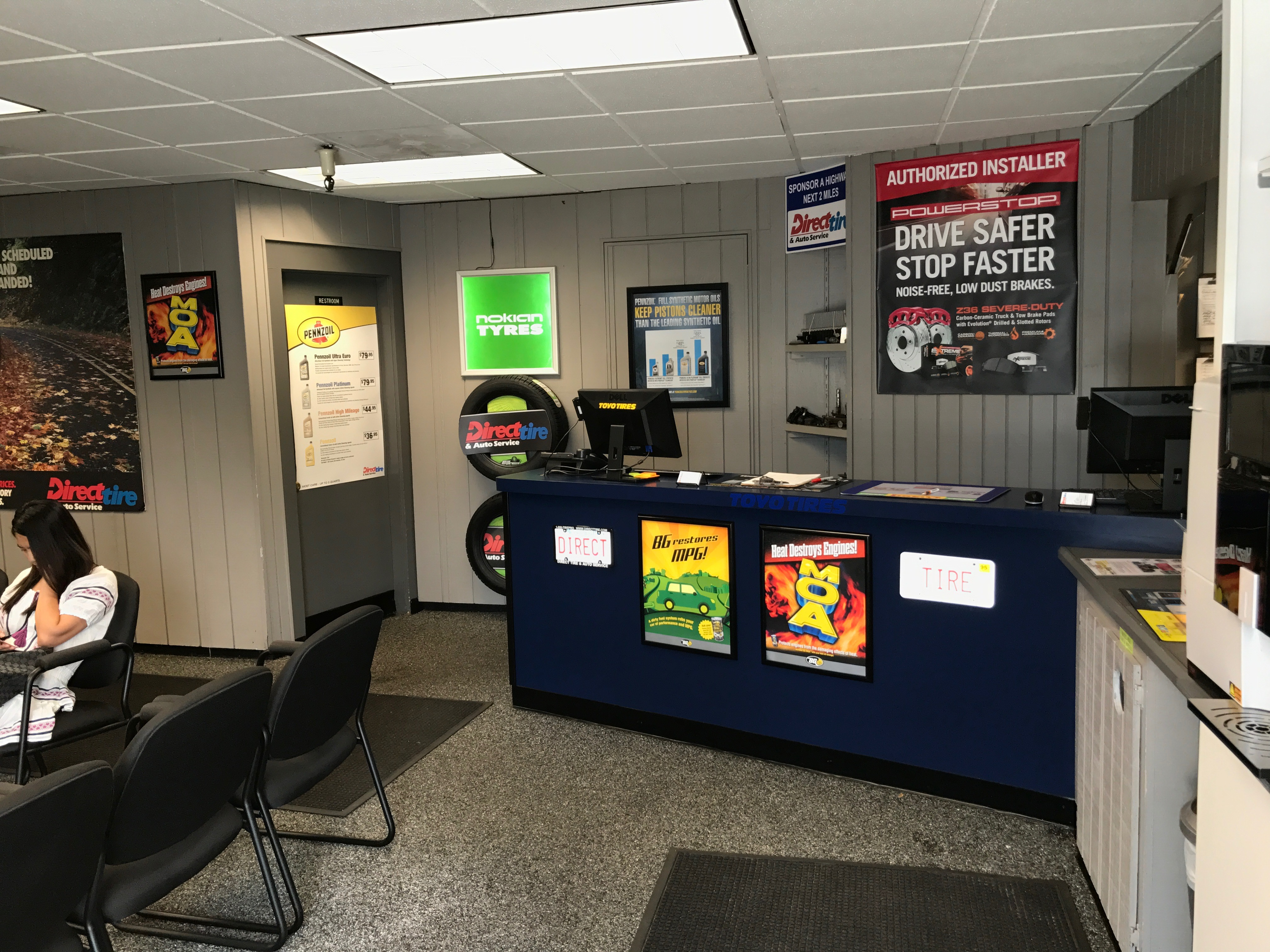 direct tire and auto service automotive service and car repair
