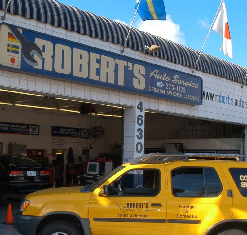 Robert S Auto Service Automotive Service And Car Repair In San