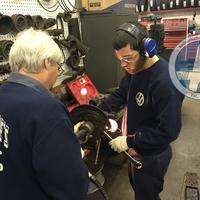 Thumb job training wheel bearing 2