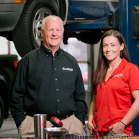 Thumb taking the wheel at tire pros  automotive inc
